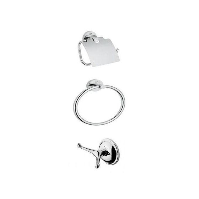 accessoire salle de bain series de 3 pieces solo