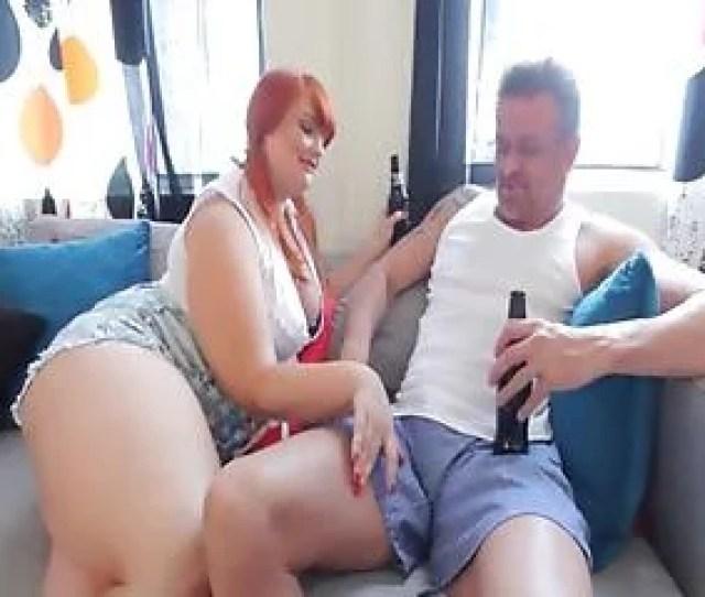 Redhead Bbw Teen Fucks