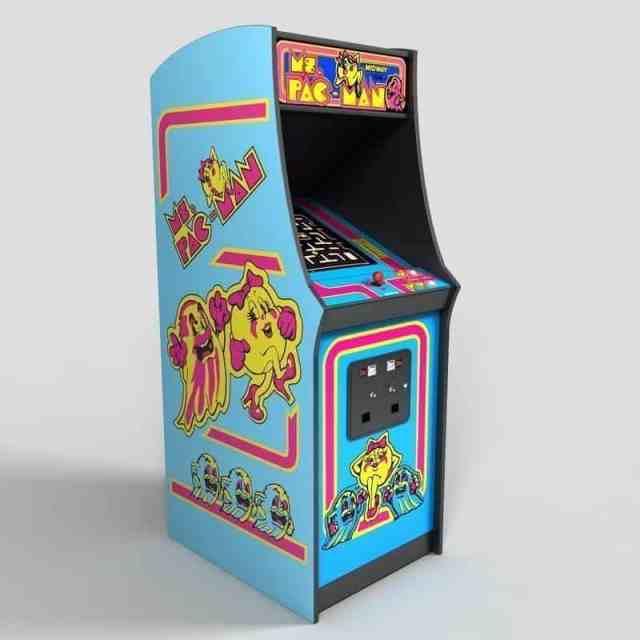 Ms Pacman Arcade Rentals