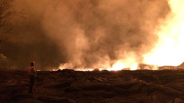 Kilauea Volcano Opened Up