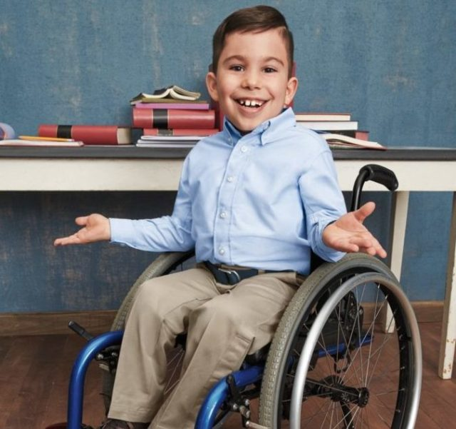 55c90f471f6f Lands' End designers have turned the company's most popular kids back-to- school styles into a wardrobe that assists students who have a disability.