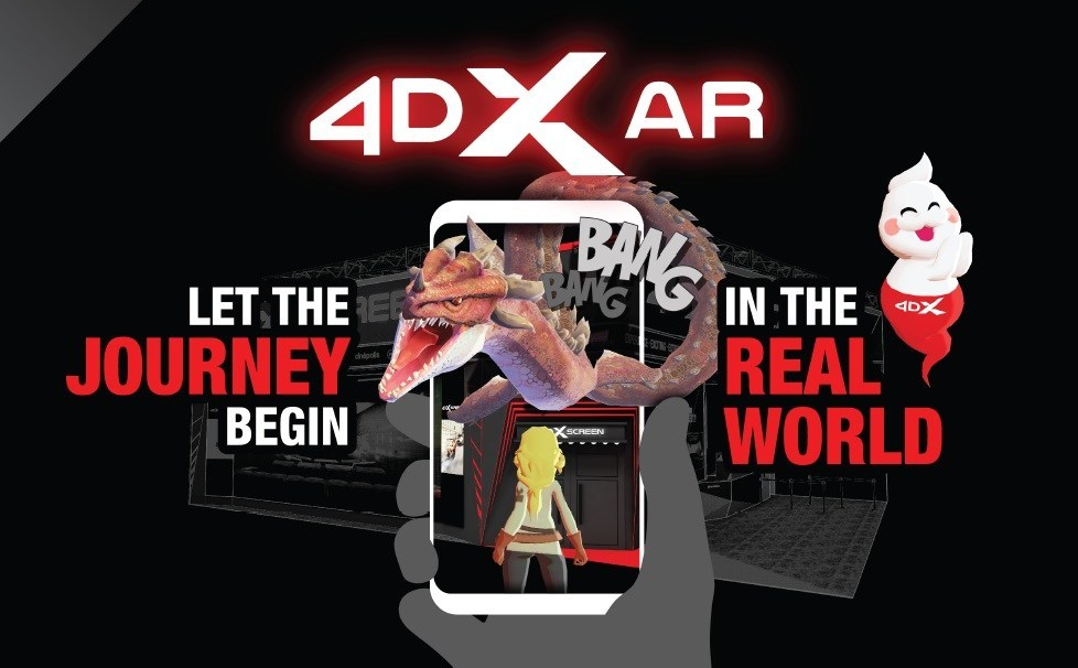 Innovative '4DX AR' Platform to Open New Business Opportunities for the Gaming and Entertainment Industry