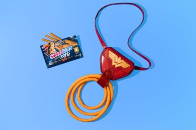 SweeTARTS Golden Ropes Holder Inspired by the new Wonder Woman 1984 film.