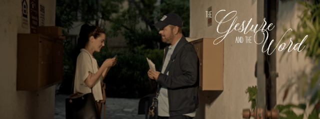 romantic short drama The Gesture and The Word