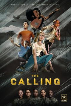 """Promotional poster for """"The Calling"""" animated series from the U.S. Army."""