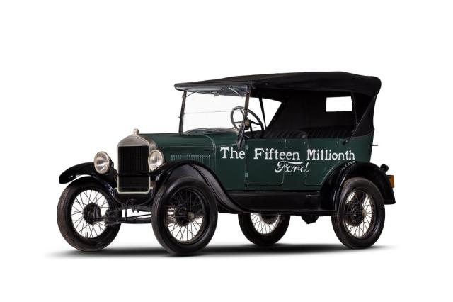 1927 Ford Model T   Fifteen Millionth Ford HVA Preston Rose