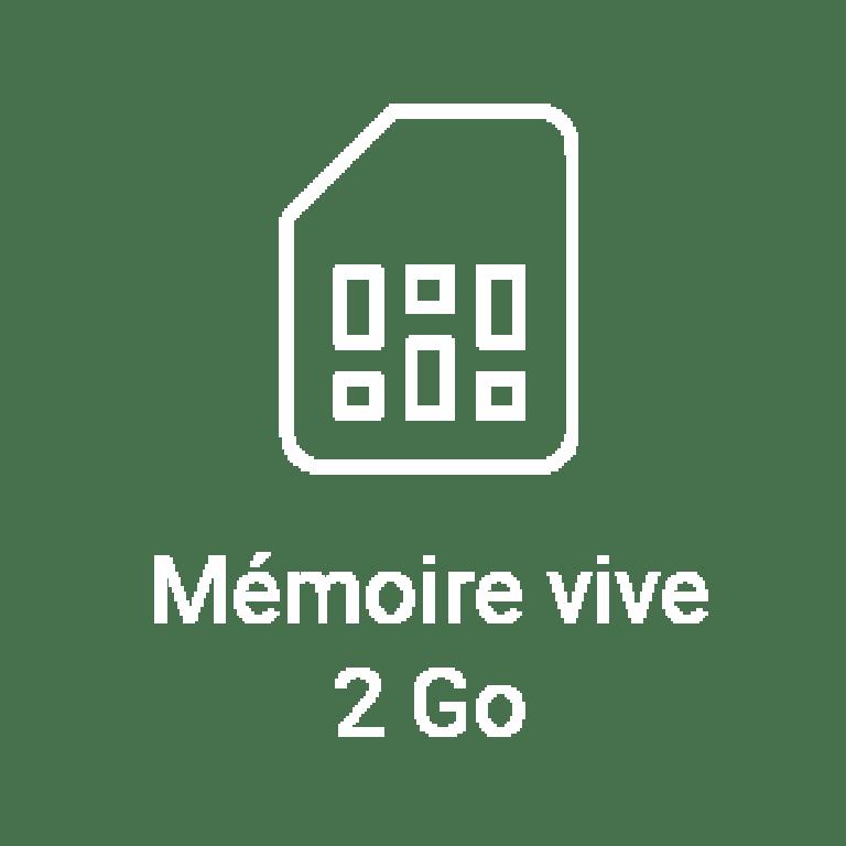 La tablette SQOOl dispose d'une mémoire vive de 2Go