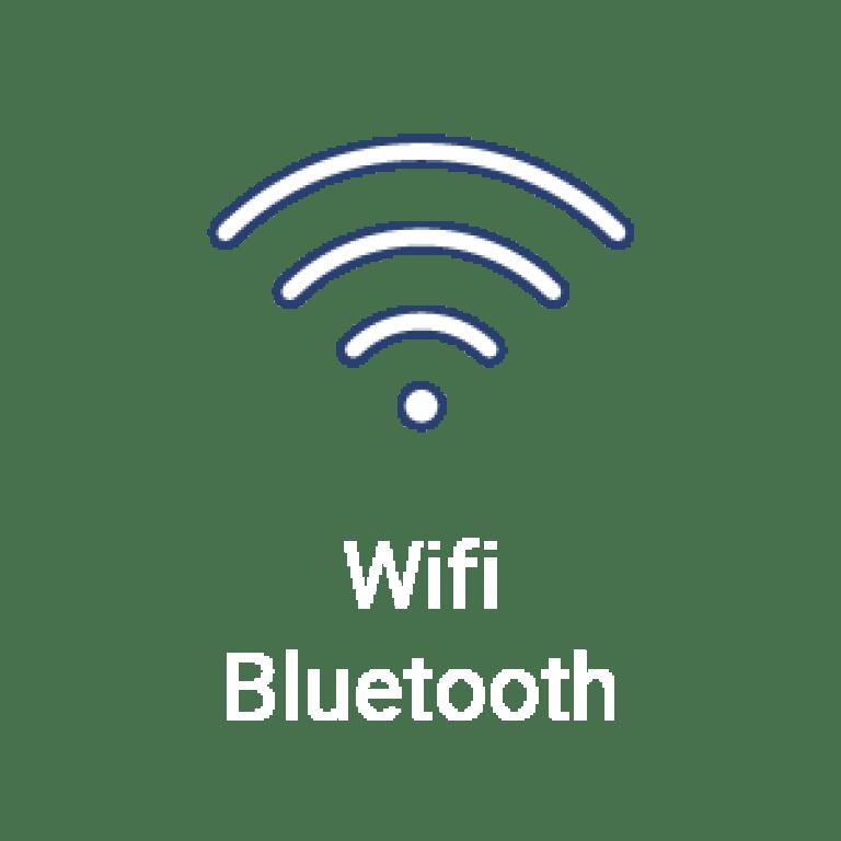 La tablette SQOOL dispose du Wifi et du Bluetooth