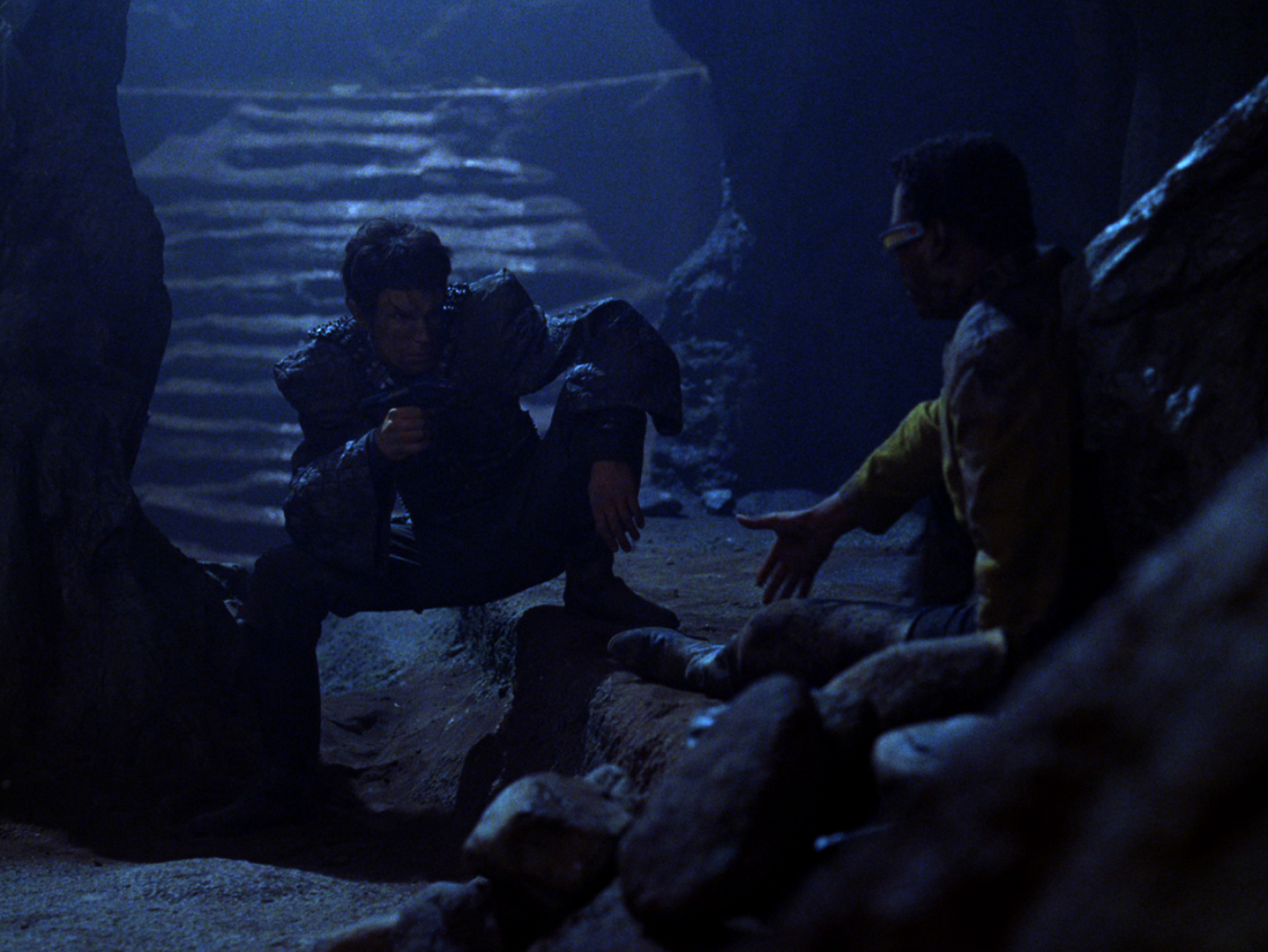 Image result for star trek the next generation trapped underground