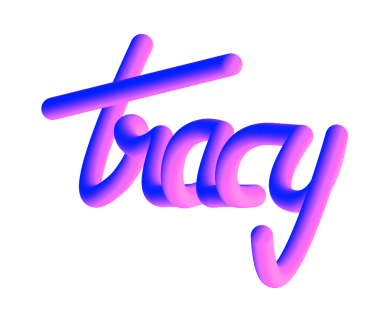'Tracy' - Neon sign inspired typeface