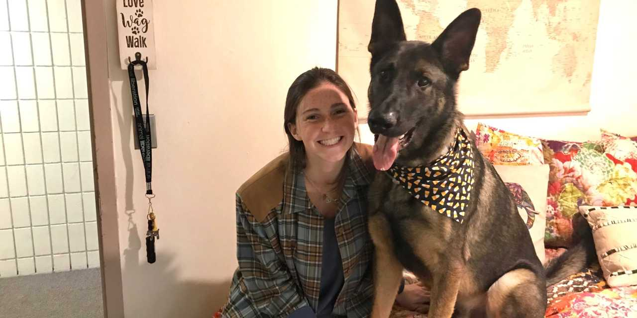 A day in the life with an emotional support animal