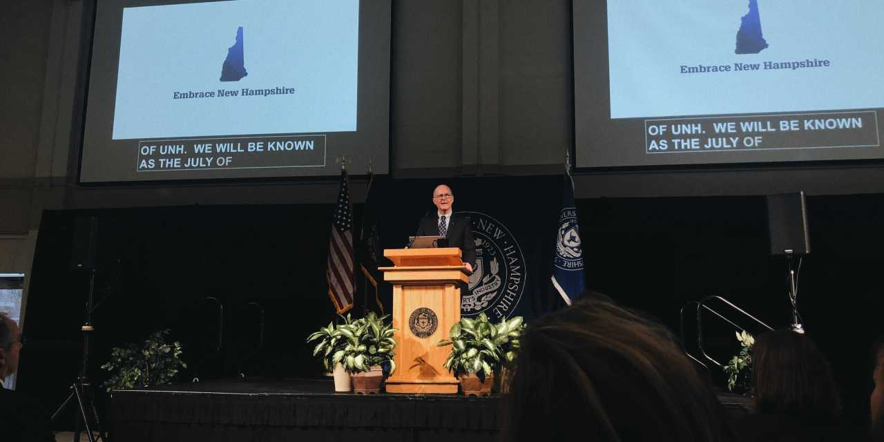 "UNH President Outlines ""Future of UNH,"" Strategic Initiatives"