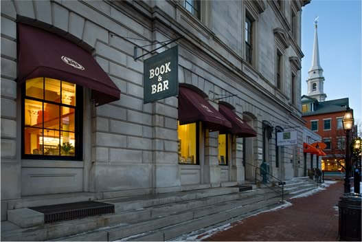 The Book and Bar provides coffee, drinks, relaxation and (of course) books