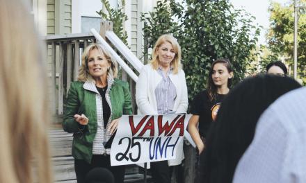 Jill Biden visits as SHARPP celebrates VAWA's 25th