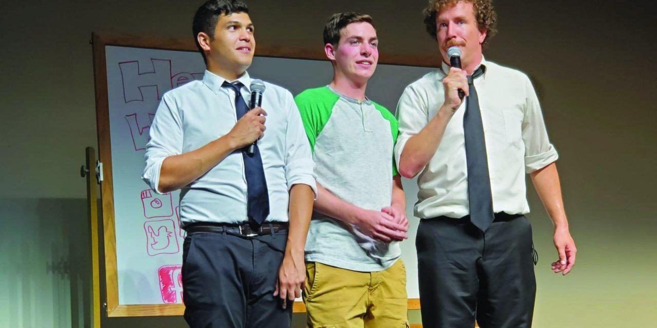 Think fast! UNH Improv hits center stage