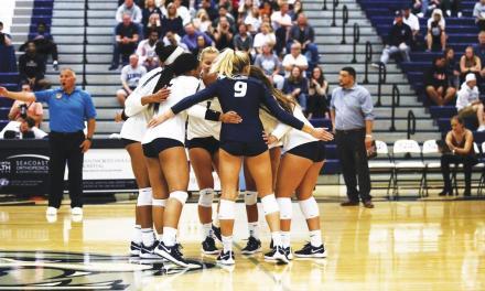 Volleyball rebounds from Rutgers loss