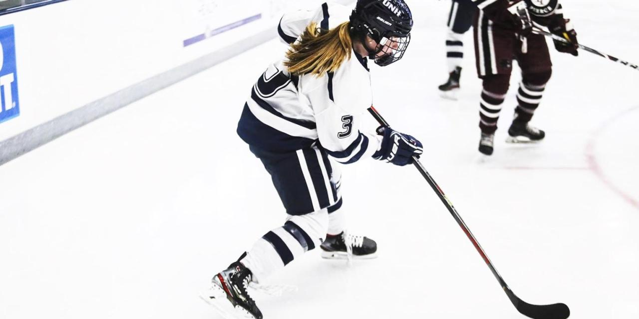 Women's hockey dominates in opener
