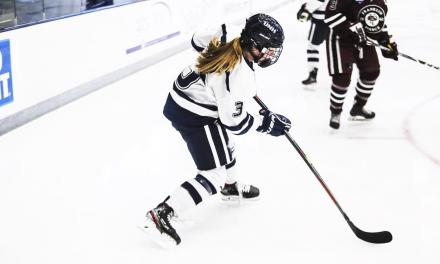 Women's hockey dominates in opener