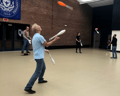 UNH's juggling club takes skills to new heights