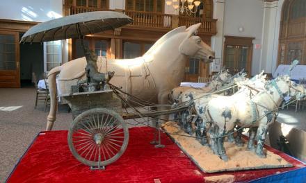 Confucius Institute hosts Terracotta warrior exhibit