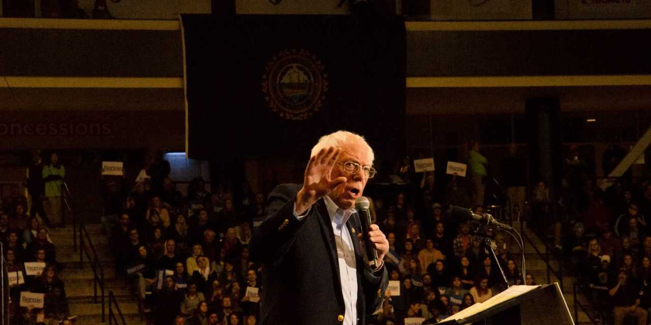 Sanders joined by Rep. Ocasio-Cortez, The Strokes in UNH rally