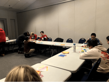 UNH Japanese Culture Club hosts origami night