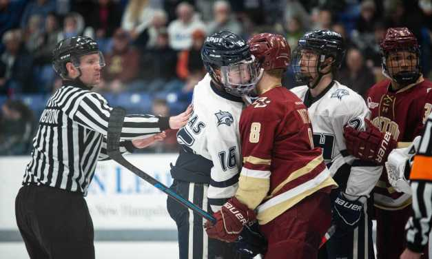 Season concludes after tie against BC
