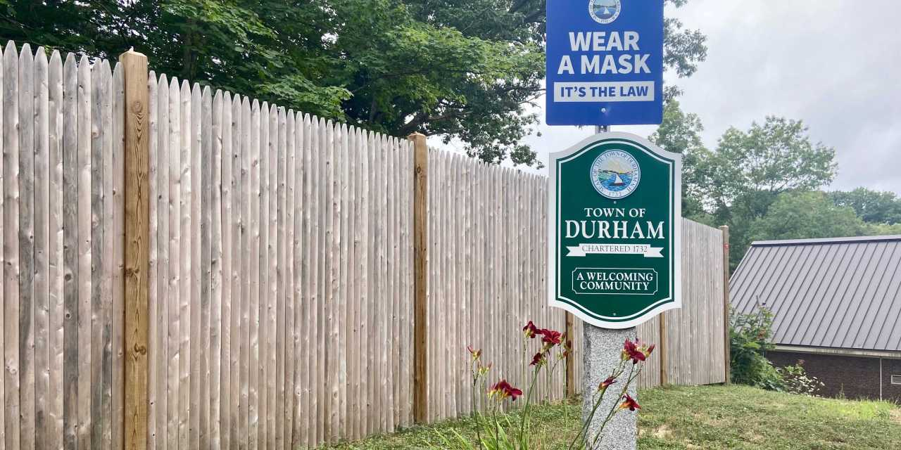 Town of Durham adopts mask ordinance