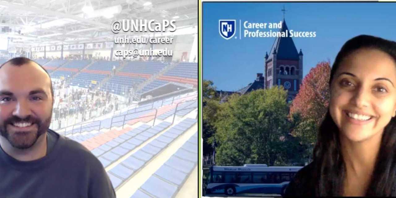CaPS staff prepares for Career and Internship Fair