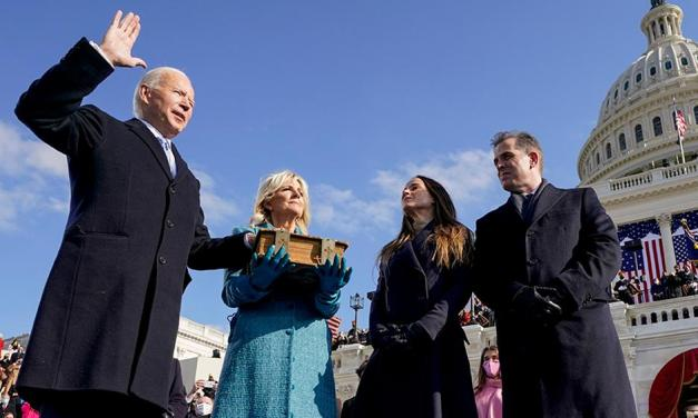 With Biden inaugurated, history is made