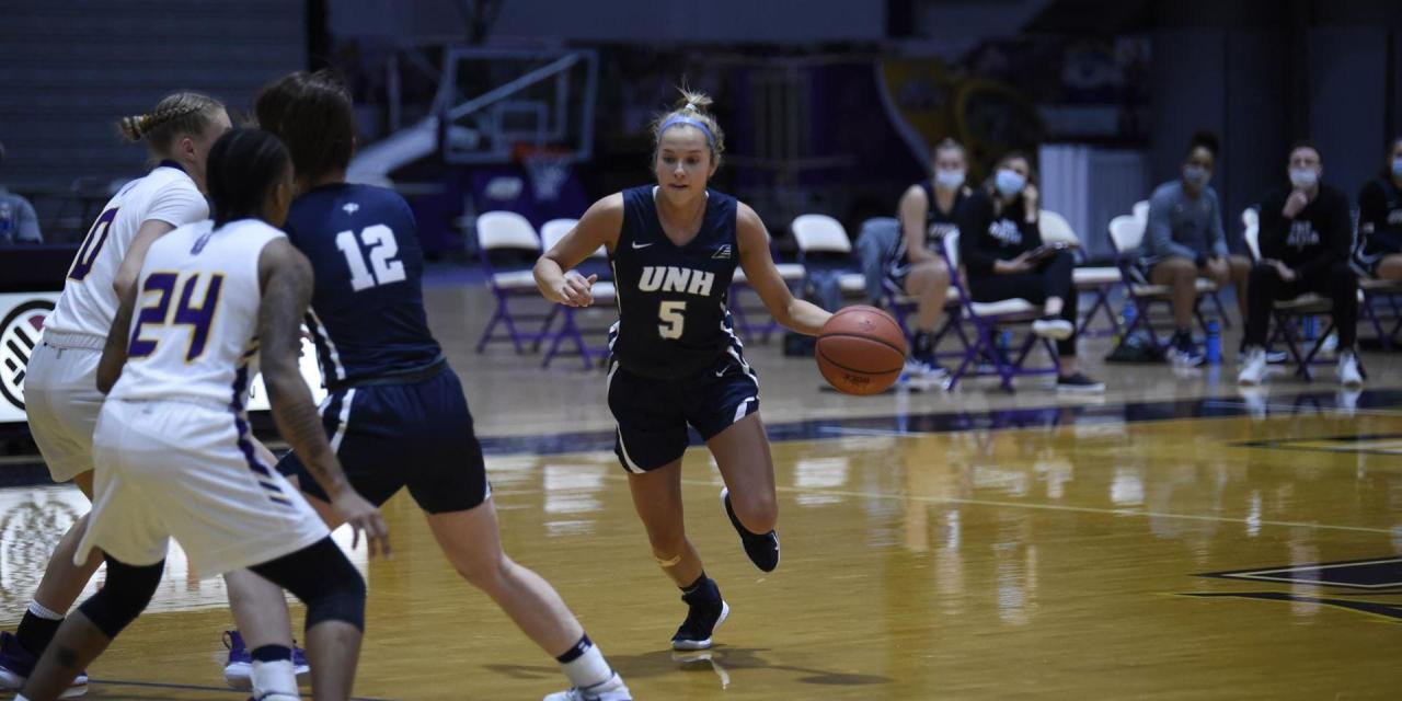 UAlbany handles UNH; Wildcats sit a game out of last place after sweep