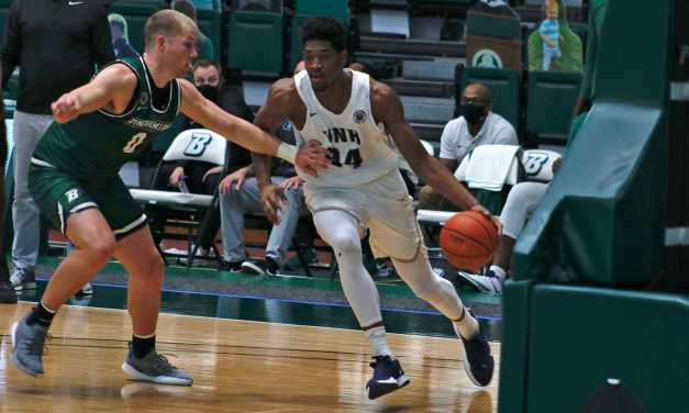 Martinez notches fifth double-double in OT win