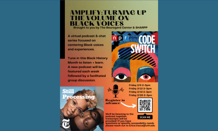 UNH celebrates Black History Month with AMPLIFY podcast series