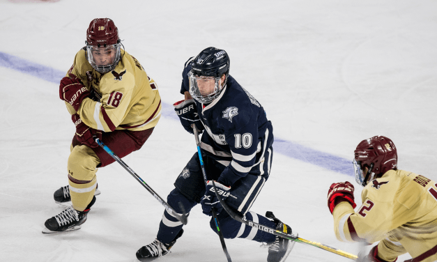 Wildcats can't complete comeback; No.1 BC holds off UNH 3-2