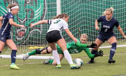Sheppard's career-high nine saves not enough in 1-0 loss as Binghamton