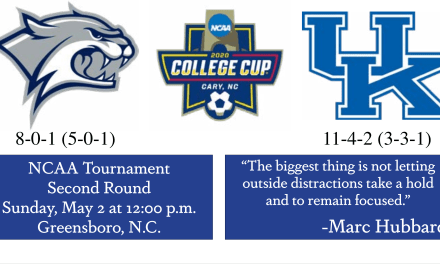 Cat fight; UNH draws Kentucky in second round matchup