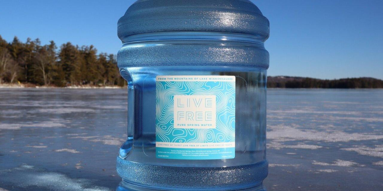 N.H. natives launch Live Free Water company