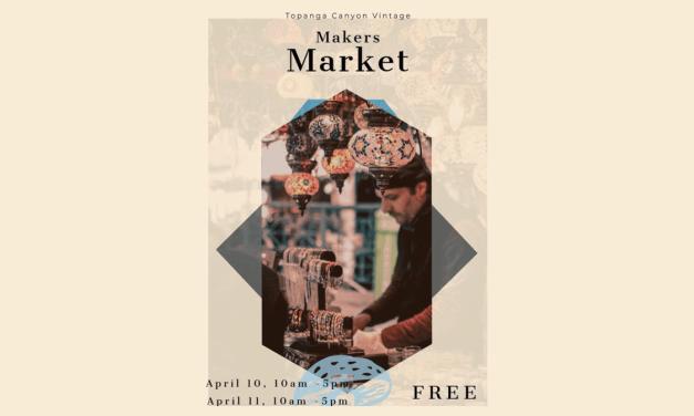Topanga Canyon Vintage holds first Maker's Market