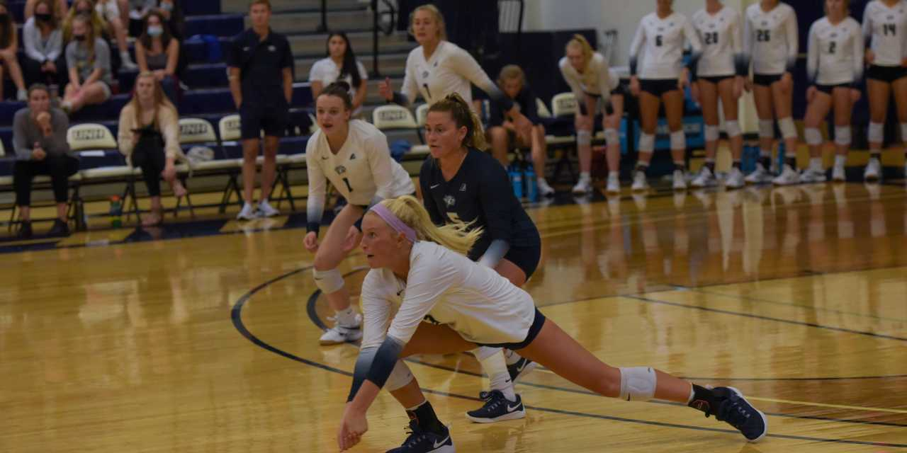 UNH volleyball: Wildcats sweep Hartford in first conference game of the year
