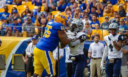 UNH football: Bigger, faster Pitt dominant in 70-point rout of No. 21 Wildcats
