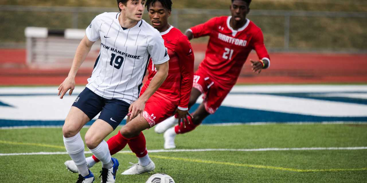 UNH men's soccer: No. 9 Wildcats offensive flurry continues at Hartford in 4-1 win