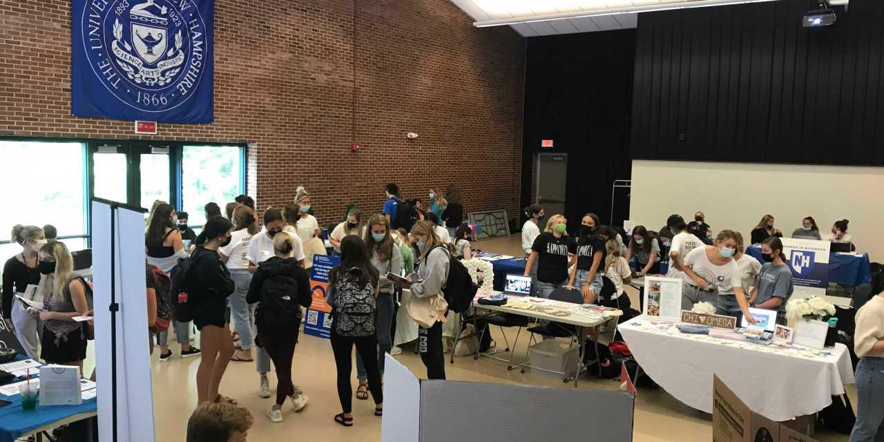 MUB hosts student involvement fair