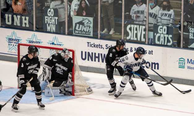 UNH men's hockey: Wildcats fall 2-0 to No. 12 Providence despite outshooting Friars