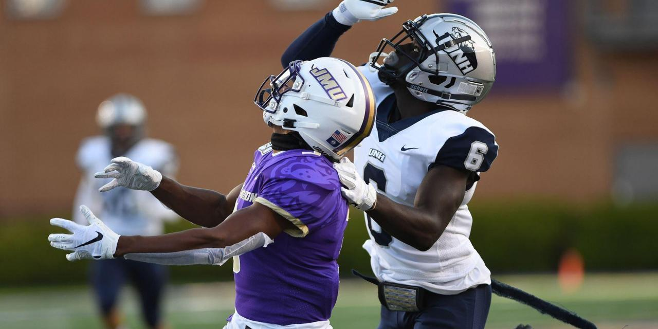 UNH football: No. 25 Wildcats turn the page on Pitt, brace for No. 3 JMU on Homecoming Weekend