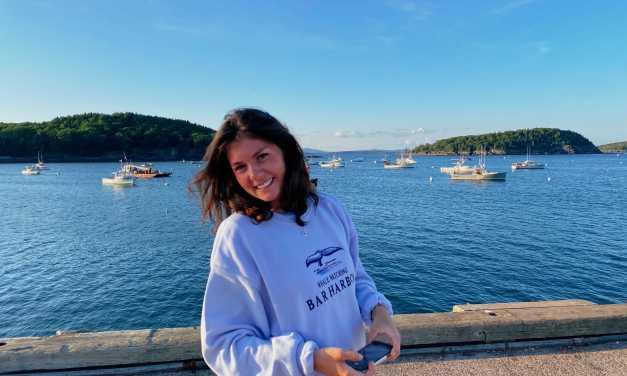 On the spot: Student Body President Sophia Spina