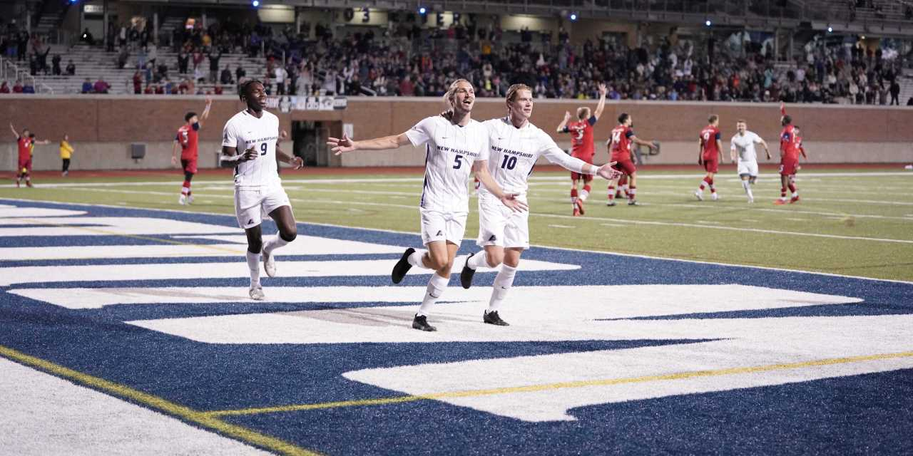 UNH men's soccer: No. 6 Wildcats catch fire in the second half to remain undefeated