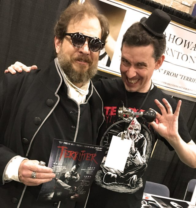 Isaac Thorne Meets David Howard Thornton at Fanboy Expo