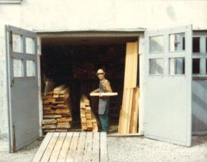 Trä lager förr