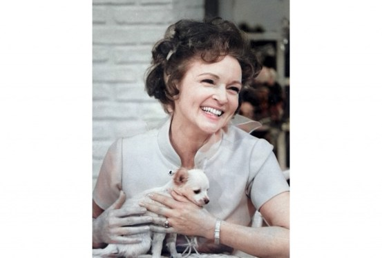 Betty White, furry friends starring in the 50-year-old 'Pet Set'  Taiwanese news