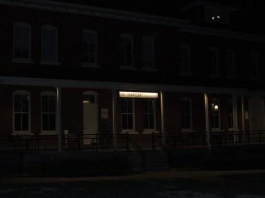 "The Presidio at Night ""The Commissary"""